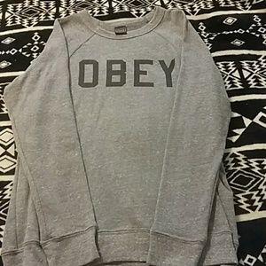 Women's obey sweatshirt